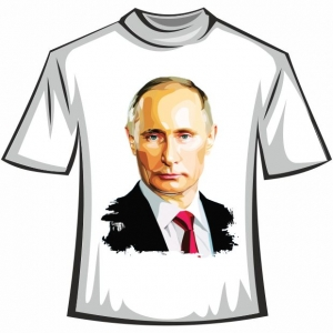 "Футболка ""Путин 1"""
