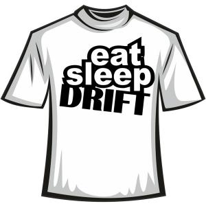 "Футболка ""eat sleep DRIFT"""