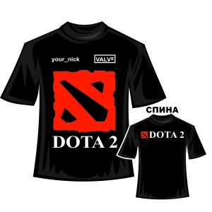 "Футболка ""DOTA2"""