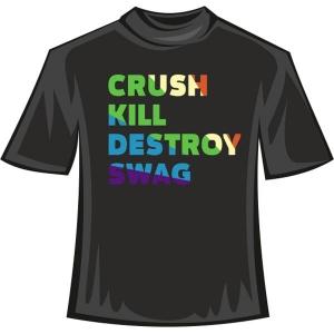 "Футболка ""Crush Kill Destroy Swag 2"""