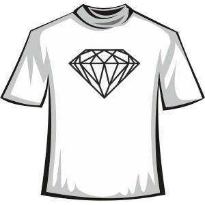 """Футболка """"Diamond Black"""""""