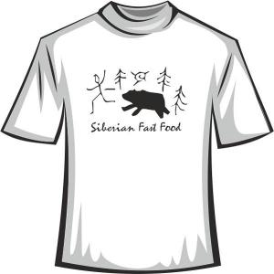 "Футболка ""SIBERIAN fastfood"""