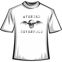 "Футболка ""Avenged Sevenfold"""