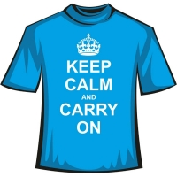 "Футболка ""Keep Calm and Carry"""