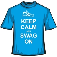 "Футболка ""Keep Calm and Swag"""