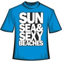 "Футболка ""Sun Sea and Sexy"""