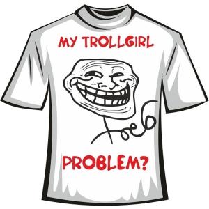 """Футболка """"trollface"""""""