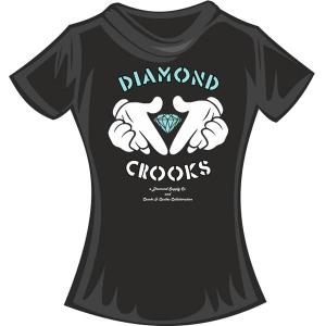 "Футболка ""Diamond Crooks Color"""